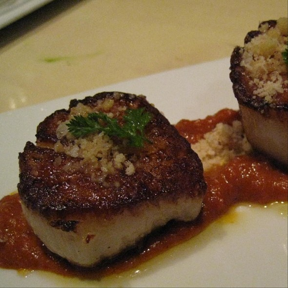 Scallops With Romesco - The Bazaar by José Andrés, Los Angeles, CA