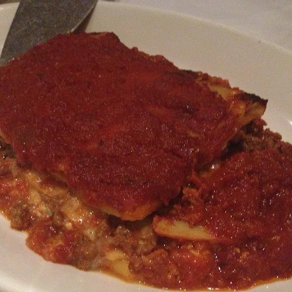 lasagna - Trattoria L'incontro, Astoria, NY