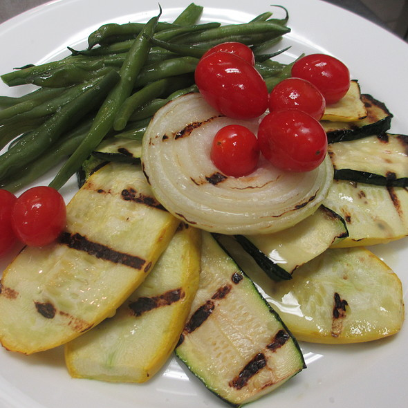 Grilled Vegetable Salad - Le Persil Bistro, Stroudsburg, PA