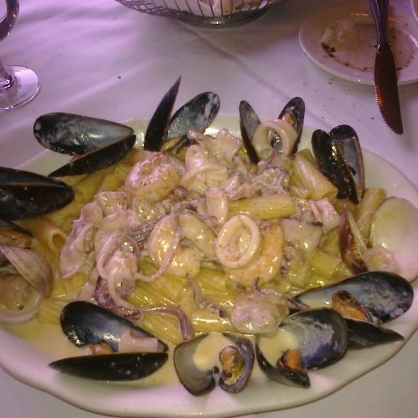 Mixed Seafood Penne Alfredo - Piccola Bussola Ristorante - Mineola, Mineola, NY