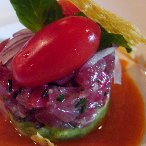 Yellowfin Tuna Tartare - Aurora Soho, New York, NY