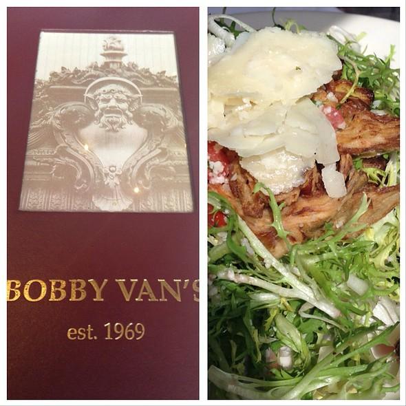 Crispy Artichoke Salad - Bobby Van's Park Avenue - 'The Original', New York, NY