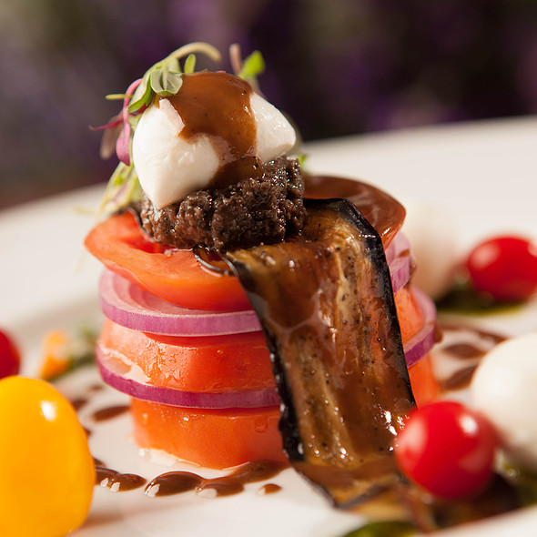 Heirloom Tomato Salad - Lavender Bistro, La Quinta, CA
