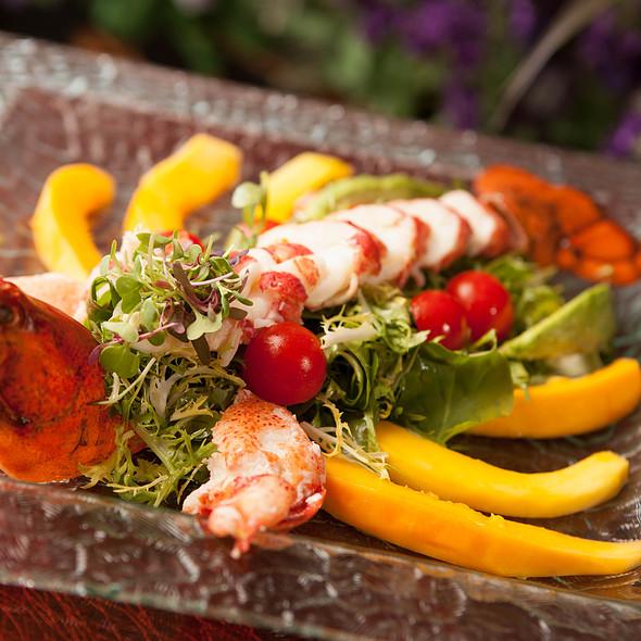 Lobster Salad - Lavender Bistro, La Quinta, CA