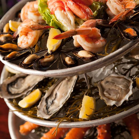 Seafood Tower - Lavender Bistro, La Quinta, CA