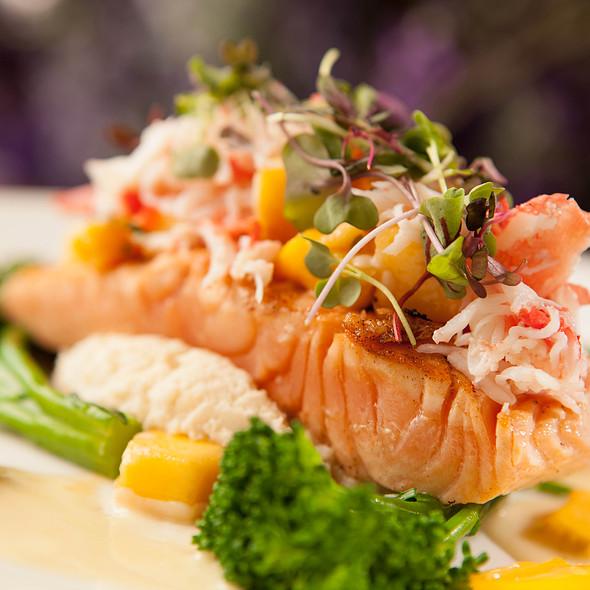 Grilled Salmon - Lavender Bistro, La Quinta, CA