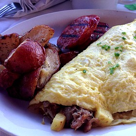 Luau Omelette - Island Lava Java Bistro, Kailua, HI