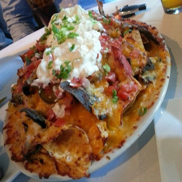 Nacho Mound - Bobby Van's Grill - New York Ave., Washington, DC