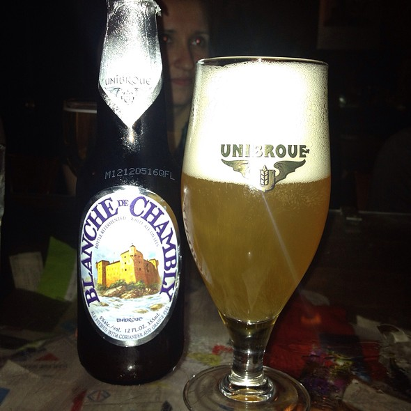 blanche de chambly - Eulogy Belgian Tavern, Philadelphia, PA