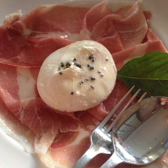 Burrata and Prosciutto - Verde on Smith, New York, NY