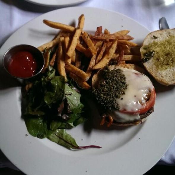 Portobello Sandwich With Tomato, Provolone And Pecan Pesto - Jack's Firehouse, Philadelphia, PA