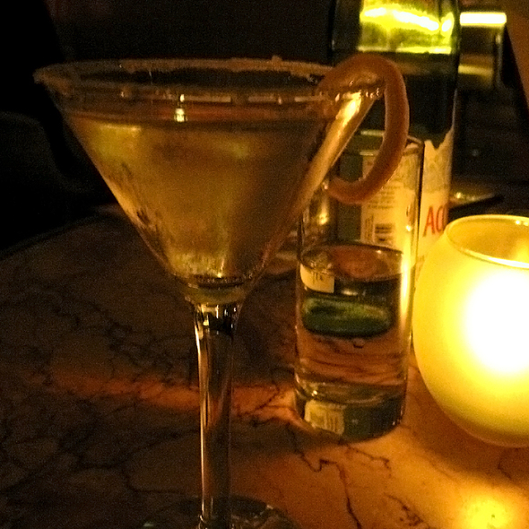 French Pear Martini - The Restaurant at The Standard, Downtown LA, Los Angeles, CA