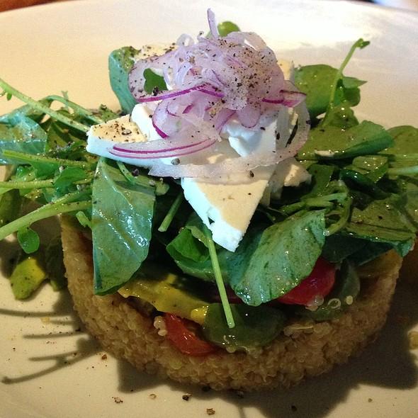 Heirloom Tomato, Arugula & Burrata Salad - Tin Roof Bistro, Manhattan Beach, CA
