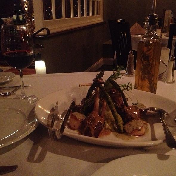 Lamb Chops And Scallops Risotto - Toscano Ristorante, Bordentown, NJ