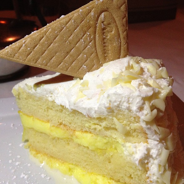 Lemon Tower Cake - Biaggi's - Champaign, Champaign, IL
