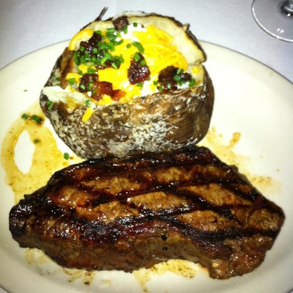NY Strip Plus Loaded Potato - St. Elmo Steak House, Indianapolis, IN