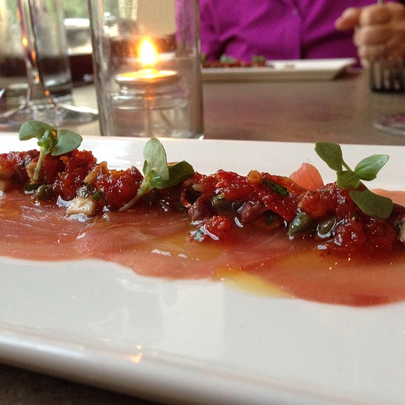 Tuna Crudo - Sonoma Restaurant + Wine Bar, Washington, DC