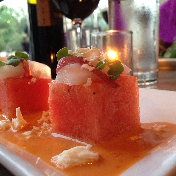 Watermelon Salad - Sonoma Restaurant + Wine Bar, Washington, DC