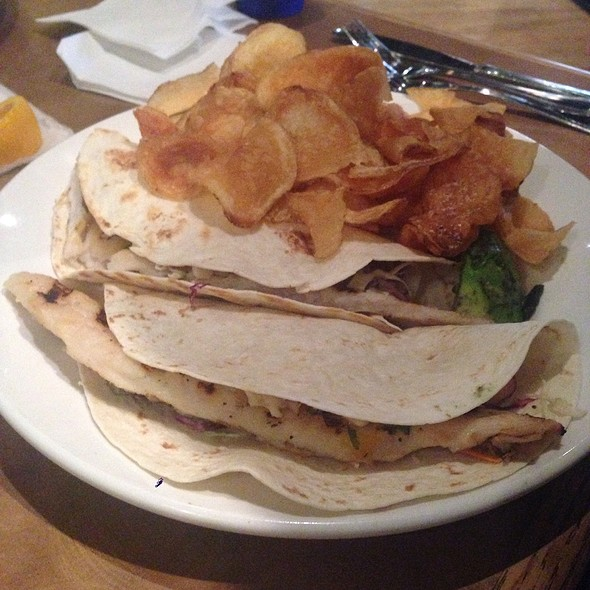 fish tacos - Binkley's Kitchen & Bar, Indianapolis, IN