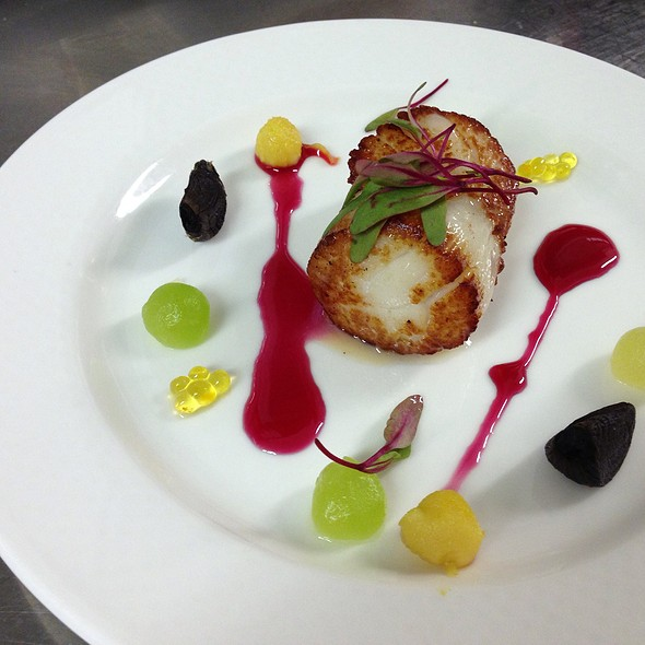 Seared Scallops - 1906 at Longwood Gardens, Kennett Square, PA