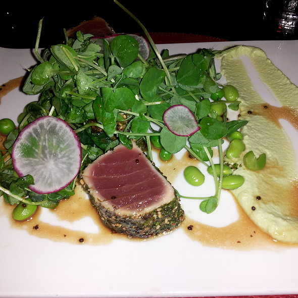 Tuna - Bristol Restaurant and Bar - Four Seasons Hotel Boston, Boston, MA