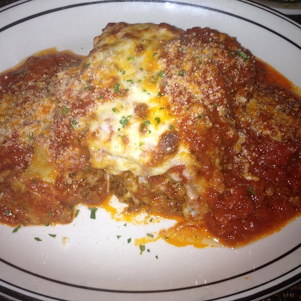 lasagna - Cesare At The Beach, Clearwater, FL