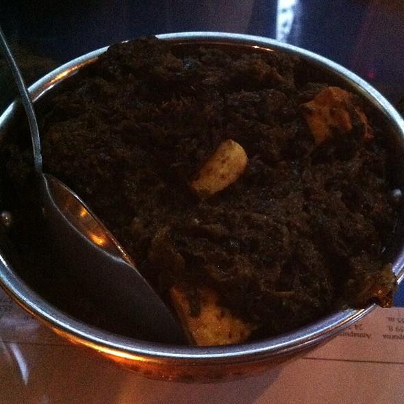 Palak Paneer - Mount Everest Restaurant, Berkeley, CA