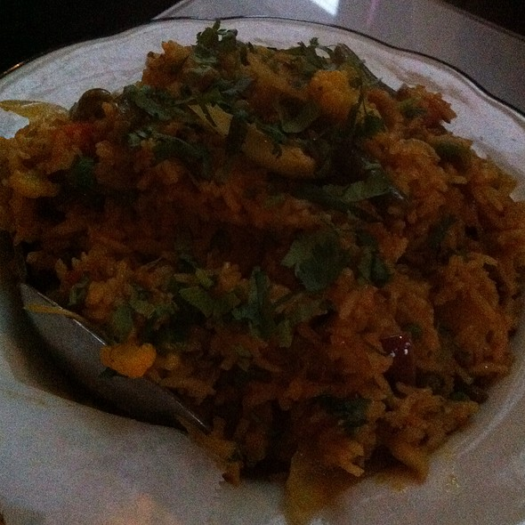 Veg Biryani - Mount Everest Restaurant, Berkeley, CA