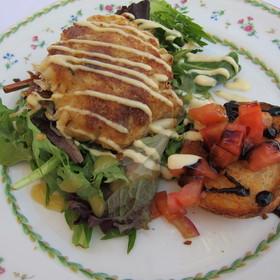 Lump Crab Cake - Renato's, Palm Beach, FL