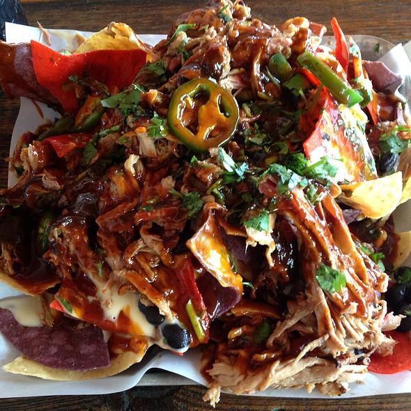 Rednexican Bbq Pulled Pork Nachos - Sauced BBQ & Spirits, Livermore, CA