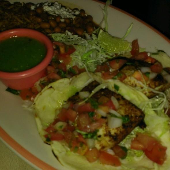 Grilled coriander crusted fish tacos - Sierra Bonita Grill, Phoenix, AZ