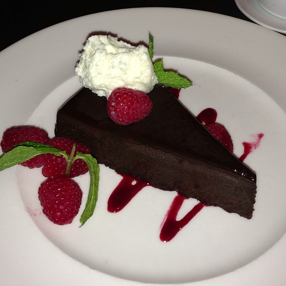 flourless chocolate cake - Zocca, San Antonio, TX