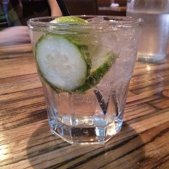 Cucumber Gin And Tonic - The Empire Lounge and Restaurant, Louisville, CO