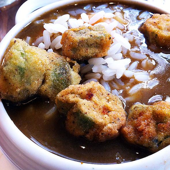 seafood gumbo - Criollo at Hotel Monteleone, New Orleans, LA