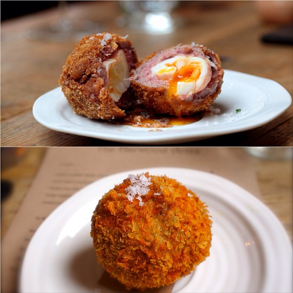 Venison Scotch Egg - Harwood Arms, London