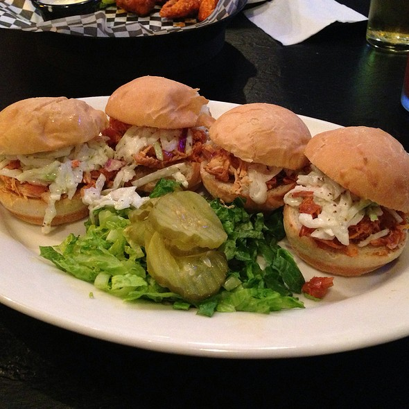 Bbq Chicken Sliders - Hudson Grille - Midtown, Atlanta, GA
