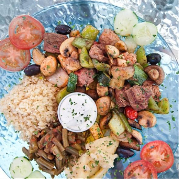 Souvlaki - Santorini Greek Kitchen, Indianapolis, IN