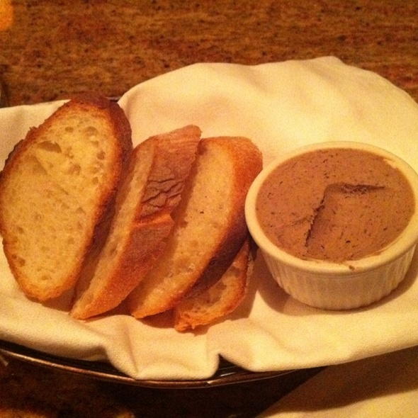 Italian Bread With Chicken Pate - Persimmon, Bethesda, MD
