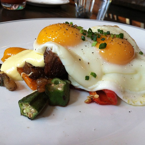 Steak & Eggs - Woodberry Kitchen, Baltimore, MD