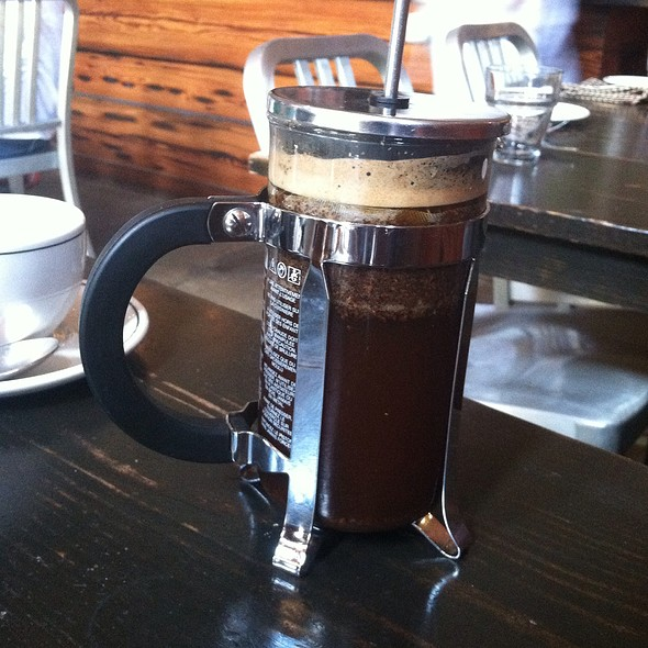French Press Coffee - Woodberry Kitchen, Baltimore, MD