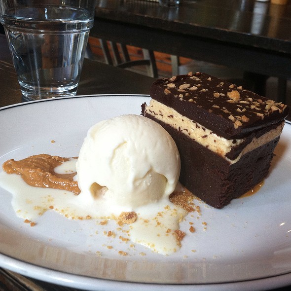 Peanut Butter Brownie Bars - Woodberry Kitchen, Baltimore, MD