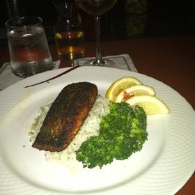Blackened Salmon - Dewz, Modesto, CA