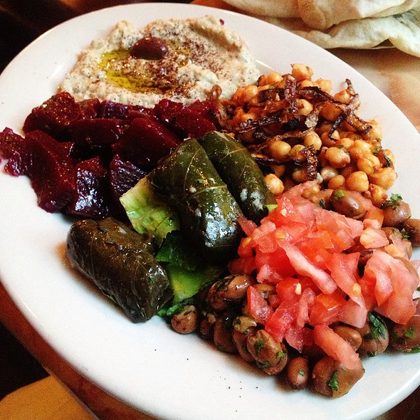 Assorted Salad Plate - Bedouin Tent Restaurant Brooklyn NY & Bedouin Tent Restaurant - Brooklyn NY | OpenTable