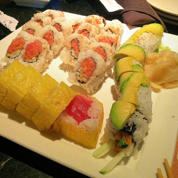 Salmon Avocado, Houghton And Spicy Tuna Rolls - Kona Grill - Kansas City, Kansas City, MO