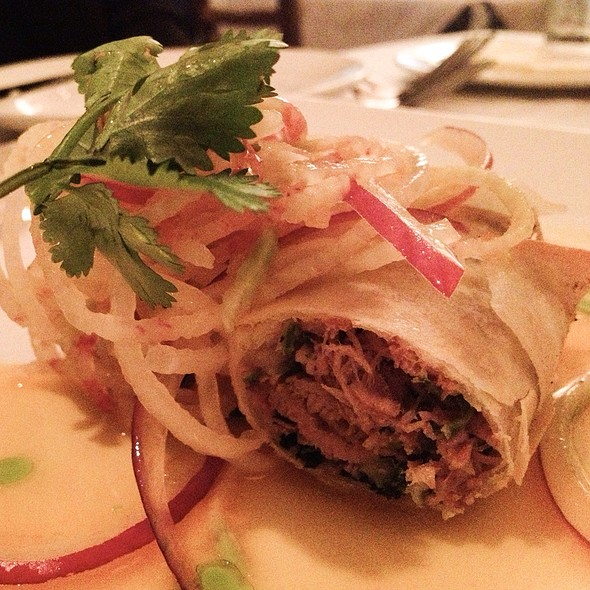 Crispy Duck Confit Spring Roll - Riva Crabhouse on Navy Pier, Chicago, IL