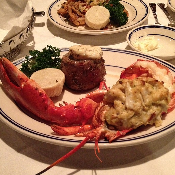 Stuffed Lobster With Filet Mignon - The Wharf, Alexandria, VA