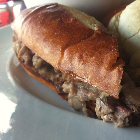 Lamb Sandwich - Mahony & Sons - Burrard Landing, Vancouver, BC