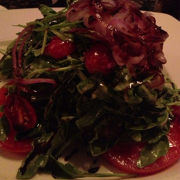 Arugula Salad With Local Tomatoes - River Grille, Easton, PA