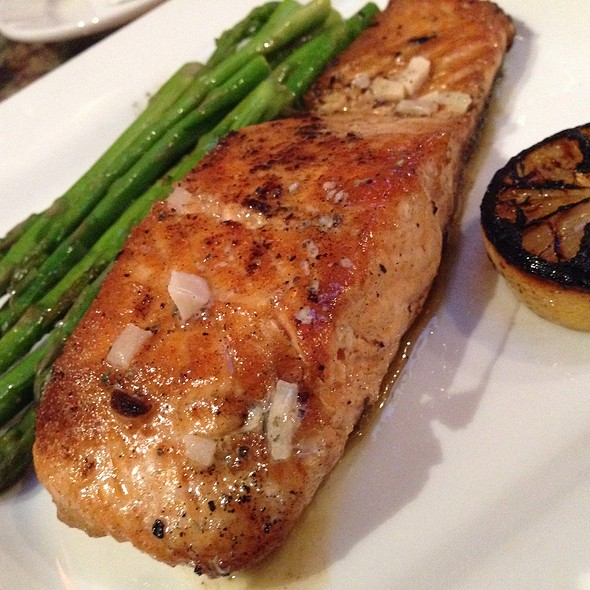 Grilled Salmon - Pasha Mezze, Norfolk, VA