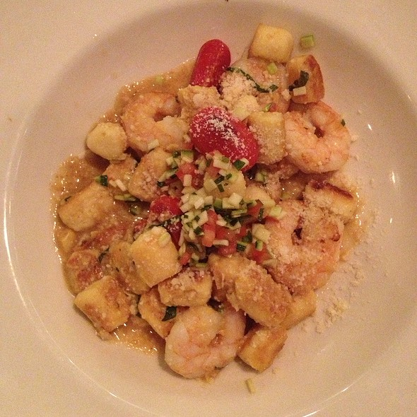 Georgia Shrimp And Sweet Corn Gnocchi - Chicken and the Egg, Marietta, GA